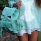 Women's leather bags, backpacks are now in trend!