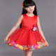 Children's dresses for young fashionable women of 4-5 years