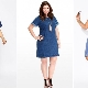 Denim dresses for obese women