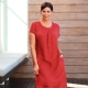 Robes de lin et des robes du soleil pour les femmes obèses