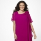 Chiffon dresses for obese women
