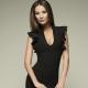Quoi porter avec une robe fourreau noire