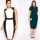 Stylish dress models for obese women