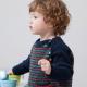 Raglan sweater for children