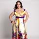 Long dress for obese women
