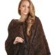 Pletený Mink Coat