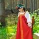 Russian folk sundress