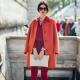 Que puis-je porter avec un manteau orange?