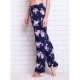 What can I wear with floral print pants?