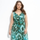 Sundresses from chiffon for obese women