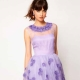 Lilac dress: popular models and what to wear?