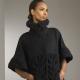 Manteau tricoté de fil épais