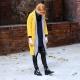 Žltý kabát: modely a čo na sebe?