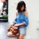 Fashionable women's denim shorts 2019