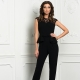 Fashionable evening women's overalls