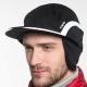 Casquettes d'hiver pour hommes avec oreilles
