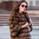 Kožušinový kabát z barguzínskeho soba
