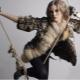 Reed Cat Kožušinový kabát