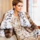 Manteau de fourrure Lynx - luxe coûteux!