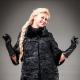 Jaket bulu Astrakhan