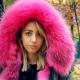Parka en fourrure rose pour femme - tendance de la saison