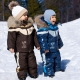 Costume d'hiver pour un garçon