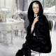 Blackglama's coat mink