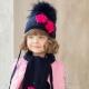 Écharpe et bonnet pour les filles