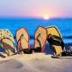 Ardoises de plage pour femmes