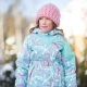 Winter suit for girls