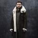 Bottes en cuir finlandaises pour hommes pour l'hiver