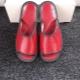 Kožené papuče