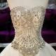 Robe de soirée avec un corset