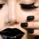Čierny make-up