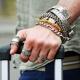 Bracelet homme en argent