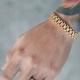 Bracelets pour hommes en or