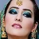 Indický make-up