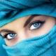 Make-up pre modré oči