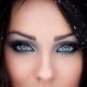 Trucco per gli occhi azzurri