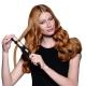 Repassage des cheveux mi-longs