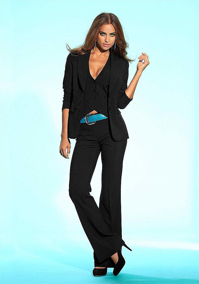 Driedelige damespak (56 foto's): rok en tweed, wat is voor