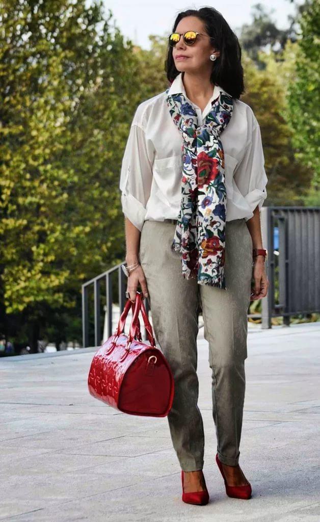 Mode für ältere Frauen ab 60 (63 Fotos): Kleidung für 60 ...