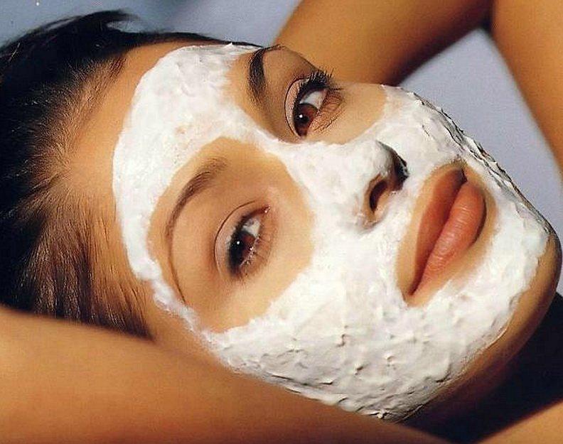 Turmeric sour cream mask and Turmeric Face